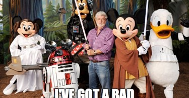 George Lucas clearly regrets selling Lucasfilm and Star Wars to Disney