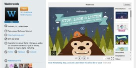 Slideshare - Personnalisation des profils - Profile Customization