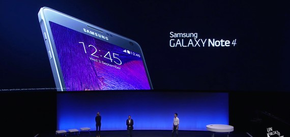 Samsung Galaxy Note 4 - IFA 2014 Unpacked