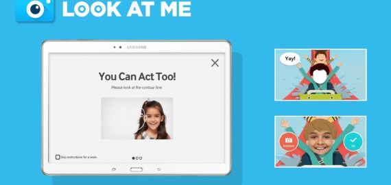 Look At Me - Application Samsung -  Interactive Camera App for Children with Autism