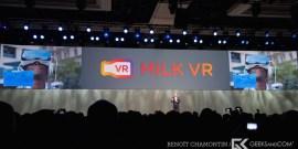 CES 2015 - Conference Samsung - Milk VR