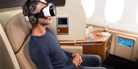 qantas samsung gear VR - Realite Virtuelle