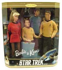 Barbie and Ken - Star Trek Edition