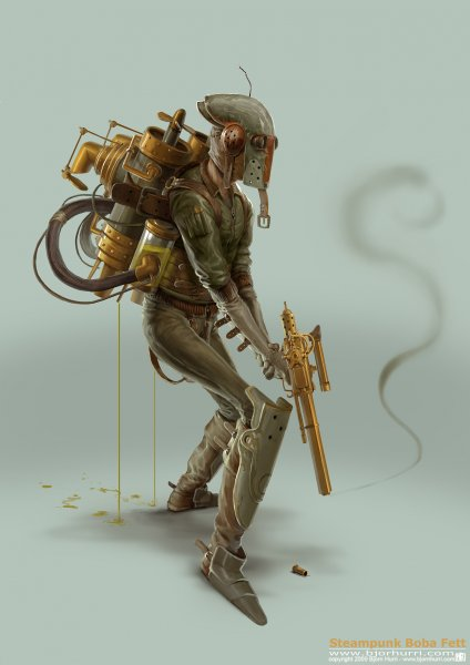 Boba Fett, Steam Punk