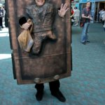 Carbonite Han at Comic-Con 2011 in San Diego