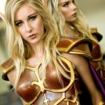 A Duo of Female Blood Elves @ Blizzcon 2011
