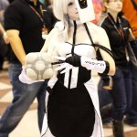 An Amazing GLaDOS Costume (New York Comic Con 2011)