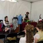Bustle panel by Cat B. at S.T.E.A.M.Fest; photo by Betwixt