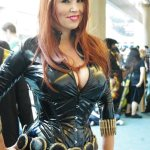 Black Widow - SDCC 2012 - Aggressive Comix