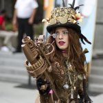Steampunk Lady - SDCC 2012 - San Diego Shooter