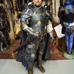 A Knight in Armor - Montreal Comic Con 2012