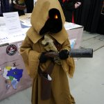 Jawa (Star Wars) at Montreal Comic Con 2012