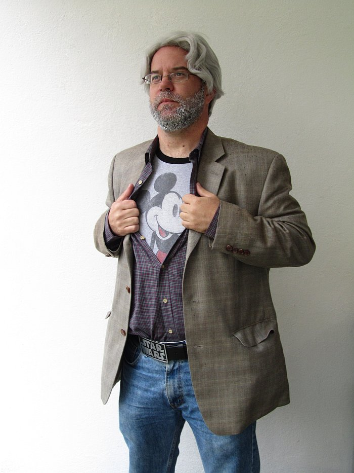 John B. as George Lucas
