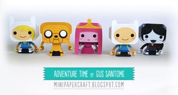 Adventure_Time_by_Gus_Santome