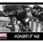 Pixar Captain America Memories