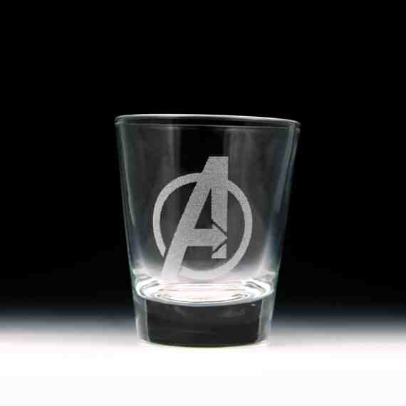 Avengers Shot Glass