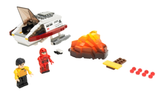 Spock's Volcano Mission Building Set