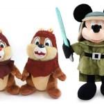 Plush Disney Characters.