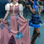 Snow White and Robecca Steam (Monster High) – San Diego Comic-Con (SDCC) 2013 (Day 1)