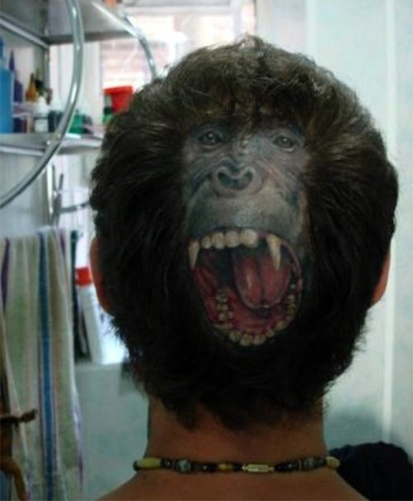monkey-head-tattoo