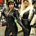 Catwoman and Black Cat - Montreal Comic Con 2013 - Picture by Geeks are Sexy