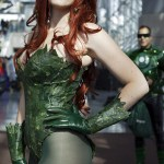 Poison Ivy (Gilly Kins) at New York Comic Con (NYCC) 2013 - Geeks are Sexy