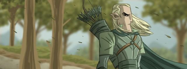 Tolkien Facebook Cover by Otis Frampton 10