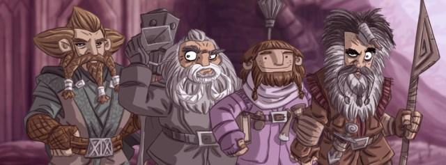 Tolkien Facebook Cover by Otis Frampton 9