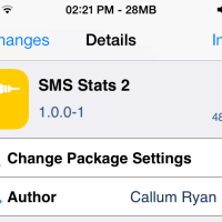 SMS Stats 2 Let You Keep Track of Your Text-Bundle on iPhone