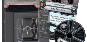 TIE Fighter expansion pack for X-Wing Miniatures game