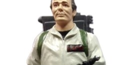 A Moving, Talking Peter Venkman from Ghostbusters Statue