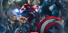Marvel Avengers Age of Ultron Movie Poster Art