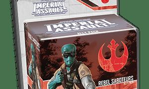 Rebel Saboteurs Ally Pack for Star Wars Imperial Assault