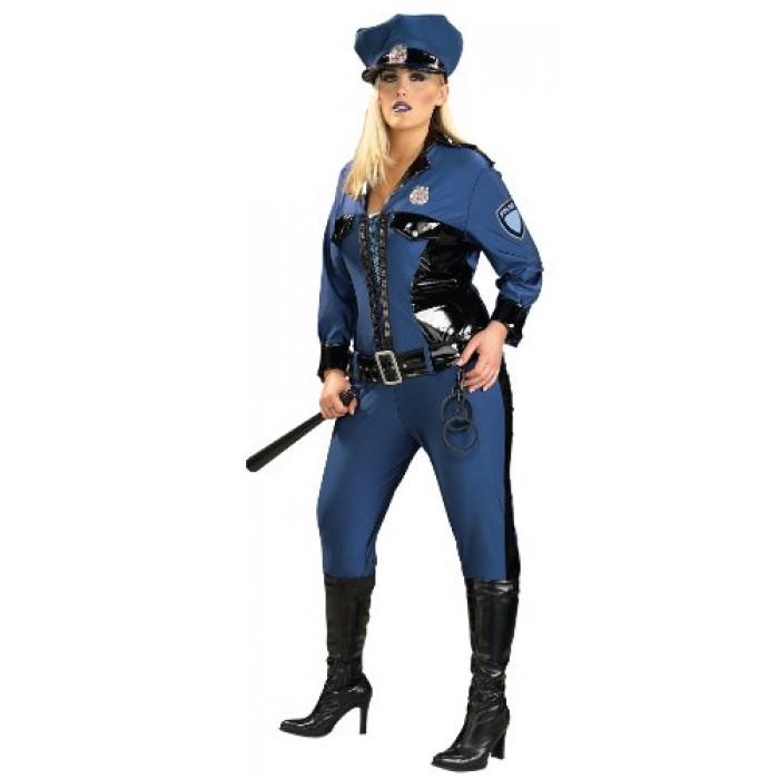 GeeksHive Rubie\u0027s Costumes Blue Lady Justice Costume - Plus Size