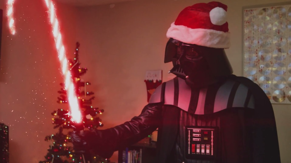 Christmas Wallpaper Hd Star Wars Villain Darth Vader Is The Ultimate Grinch In