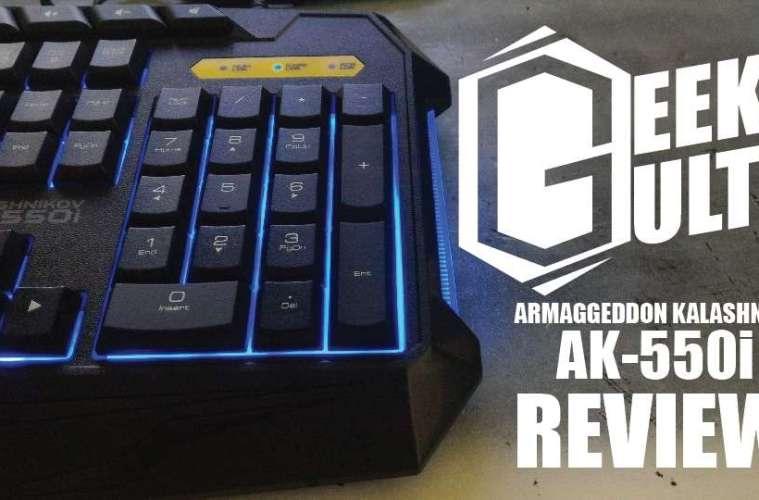 Armageddon AK550i Cover
