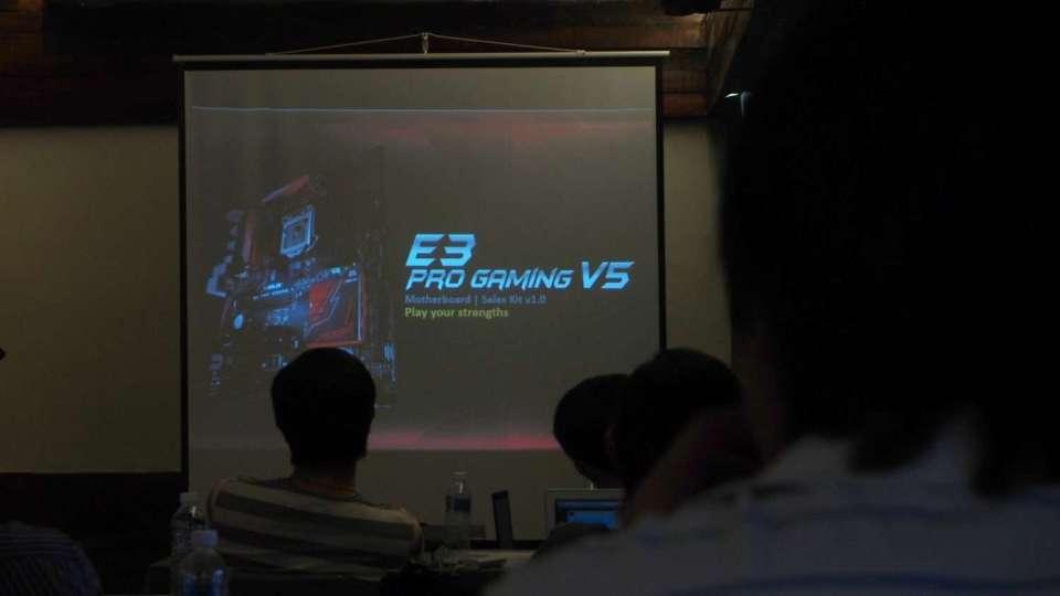 E3 Pro Gaming V5 Presentation