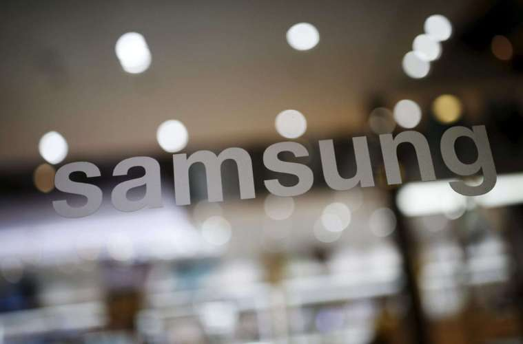 The logo of Samsung Electronic is seen at its headquarters in Seoul, South Korea, April 4, 2016. REUTERS/Kim Hong-Ji - RTSDX6S