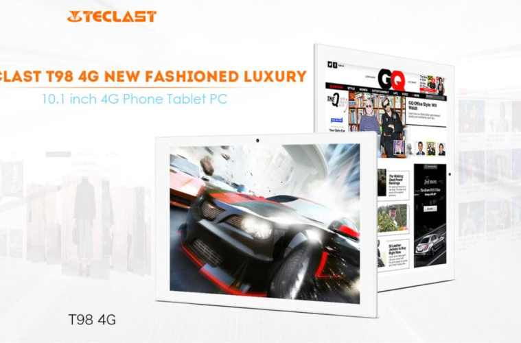 Teclast T98: A 4G Phablet With 10.1-inch Screen For Just Under $130