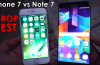 Apple iPhone 7 vs Samsung Galaxy Note 7 Drop Test - Which is More Durable?