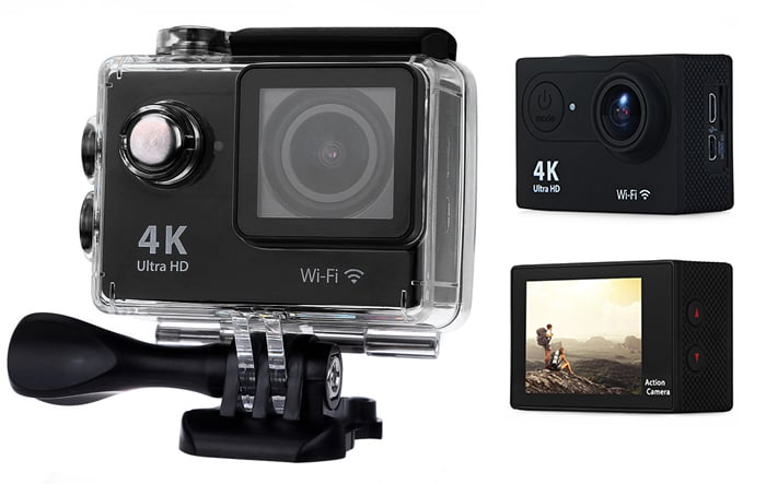 You Can Currently Get this 4K Ultra-HD Action Camera for Only $42