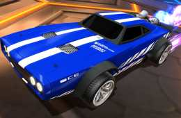 "Rocket League ""Fast and the Furious"" DLC Officially Revealed, Dom's ""Ice Charger"" Pictured In-Game"
