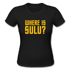 Where Is Sulu? T-Shirt (Female)