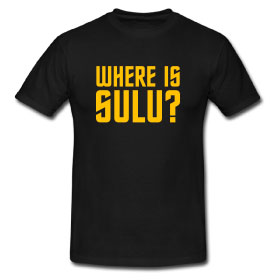 Where Is Sulu? T-Shirt (Male)