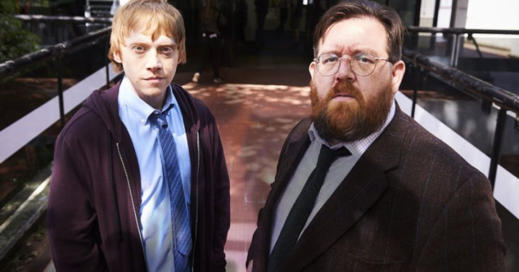 Rupert Grint, Nick Frost and Don Johnson Get A Sick Note From Sky Atlantic