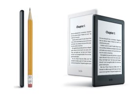 Amazon Releases Thinner and Lighter Kindle & Double The Memory!
