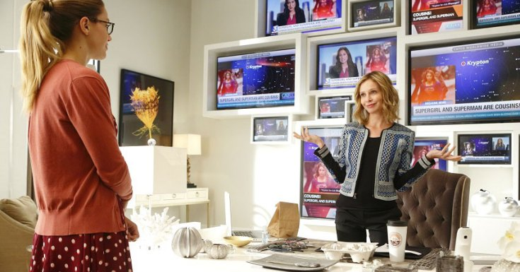 Calista Flockhart Moving From Series Regular To Recurring Role On Supergirl