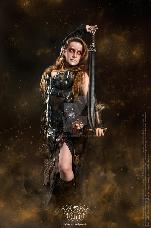 Epic Fantasy Girl Wallpaper Fantasy Armor Larp Costumes
