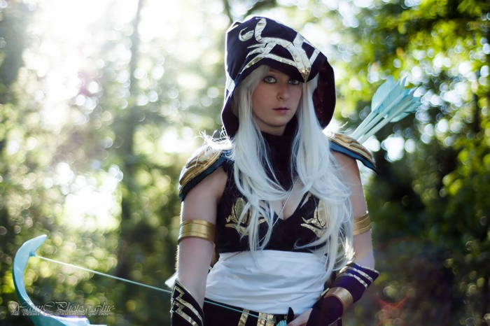 Super Cool Wallpapers For Girls Ashe League Of Legends Cosplay