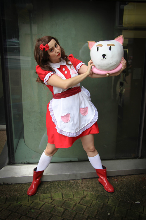 Wallpaper Girl Nerd Bee And Puppycat Cosplay